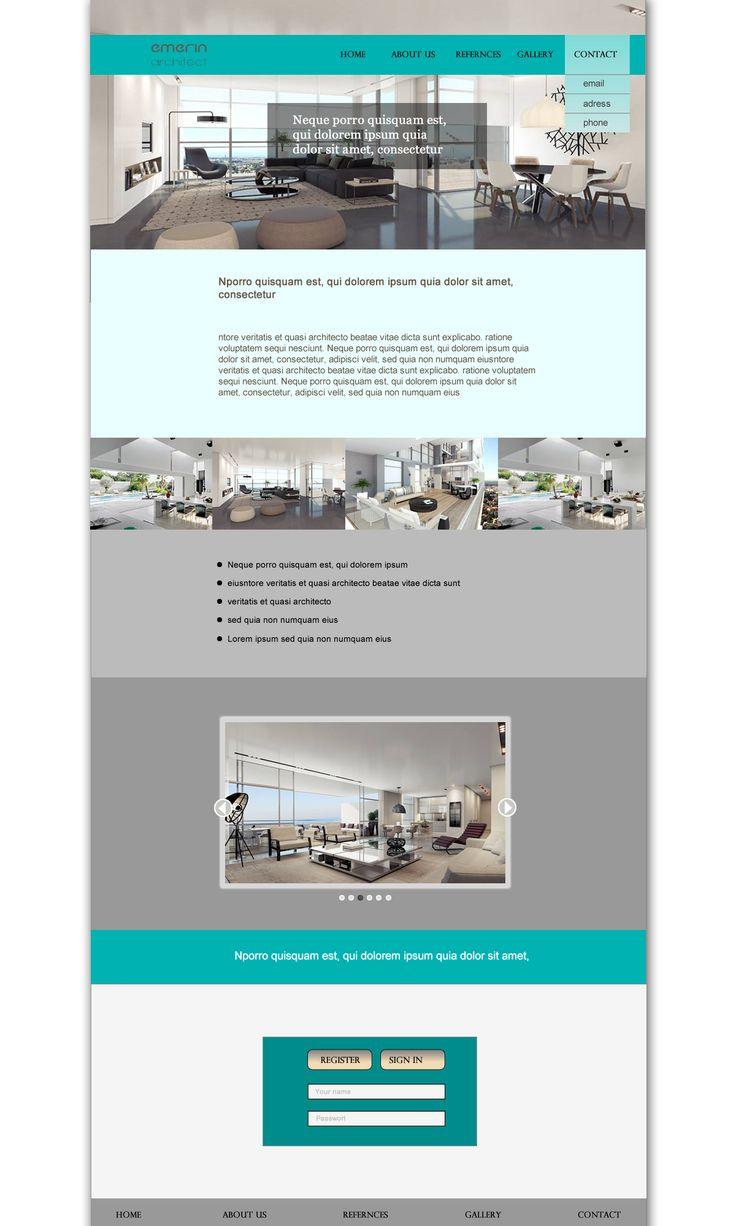 webdesign blue