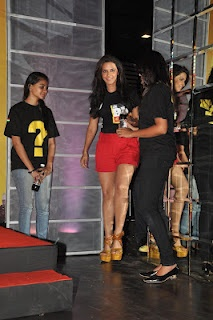 Neha Dhupia at The New Logo Launch of Cola Brand Big Cola. | Bollywood Cleavage