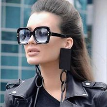 2018 Luxury Italy Oversized Square Sunglasses Women Retro Brand Designer Sun Glasses For Female Ladies Black Eyewear 1175R //Price: $US $6.97 & FREE Shipping //   #outdoorfurniture #watches #bracelets #rings #shirts #earrings #dress