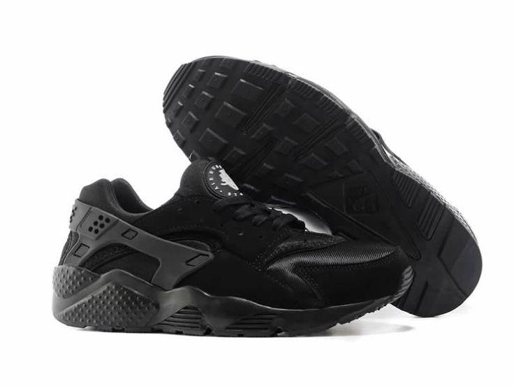 Nike Air Huarache Chaussure Pour Homme Triple Noir