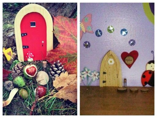 Beautiful idea for kids room or for outside in the garden for The irish fairy door company facebook