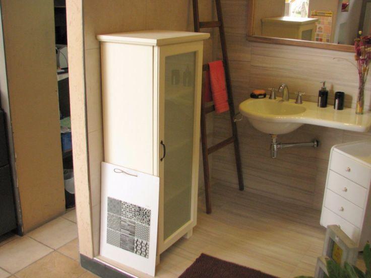Aparador de madera con puerta para cocina o ba o muebles - Muebles para cocina economica ...