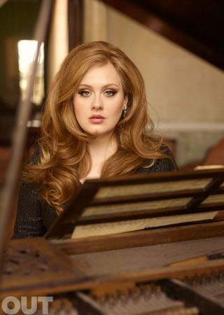 Adele. Beautiful woman with an amazing voice who is not afraid to be herself? Yes, please.