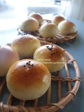 「まんまる♪プチあんぱん」satomi* | お菓子・パンのレシピや作り方【corecle*コレクル】