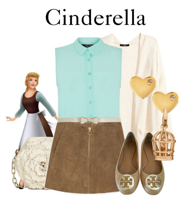 Cinderella by disneyandsuch liked on polyvore featuring for Tory burch fashion island