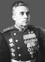Gordov Vasiliy Nikolaevich (12 Dec 1896 - 24 Aug 1950) Soviet military commander, Hero of the Soviet Union, Colonel-General. He Commanded the 21th Army, Stalingrad Front, the 33th Army, 3rd Guard.Army (1944-1945) in WWII.
