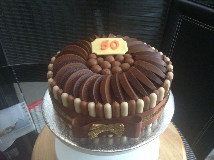 Chocolate finger cake with terrys chocolate orange