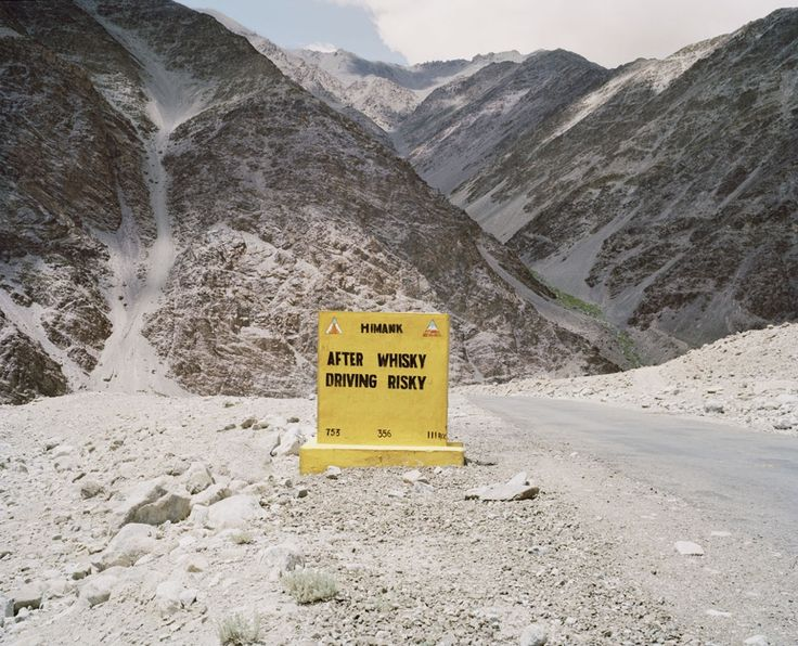 'After whisky driving risky!' Funny road signs from the Himalayas – in pictures