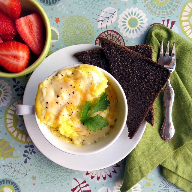 2 minute scrambled eggs