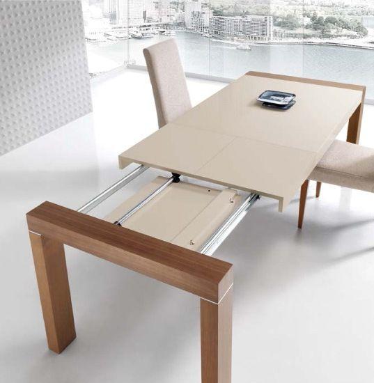 Mesa de comedor 140 x 70 cm extensible 210 cm tapa - Mesas salon extensibles ...