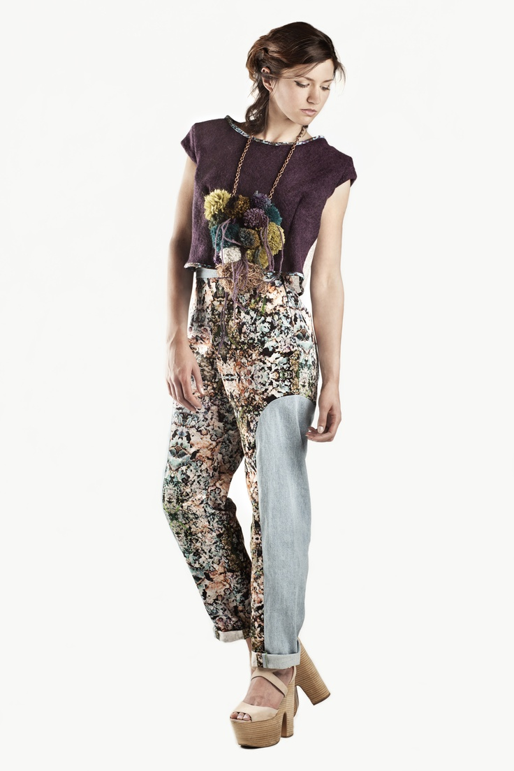 Fashion and Textile Design: Charlotte Wiggins [photographer Justyna Kloch retoucher Liliya Ivanova]