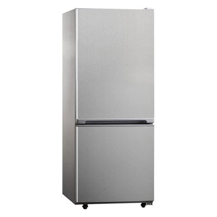 Impecca 10.2 cu. ft. Bottom Freezer Refrigerator in Stainless Steel