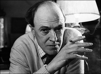 Roald Dahl, author. When I was home sick from school my Mom would read me his books. The witches, James and the Giant Peach, The BFG and the list goes on and on. Without his words I wouldn't have the imagination I have today.