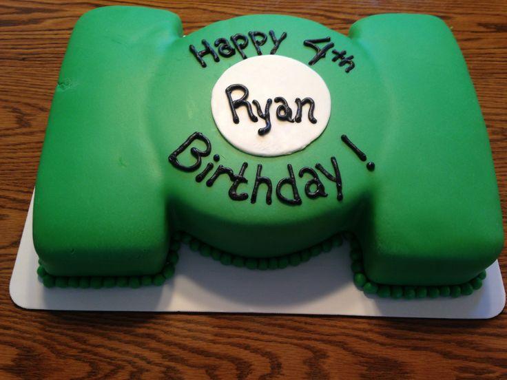 Green lantern cake decorating kit