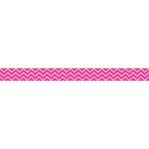 Hot Pink Chevron Border Trim, TCR5541