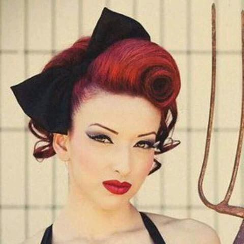 Best 25 pin up hairstyles ideas on pinterest pin up hair pin up style victory roll a vintage up do solutioingenieria Choice Image