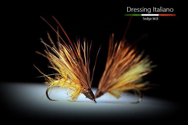 Dressing Italiano: Costruzione mosche emergenti: SEDGE M.B by Dressin...