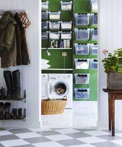 *SmartStore Wall - tvättstuga