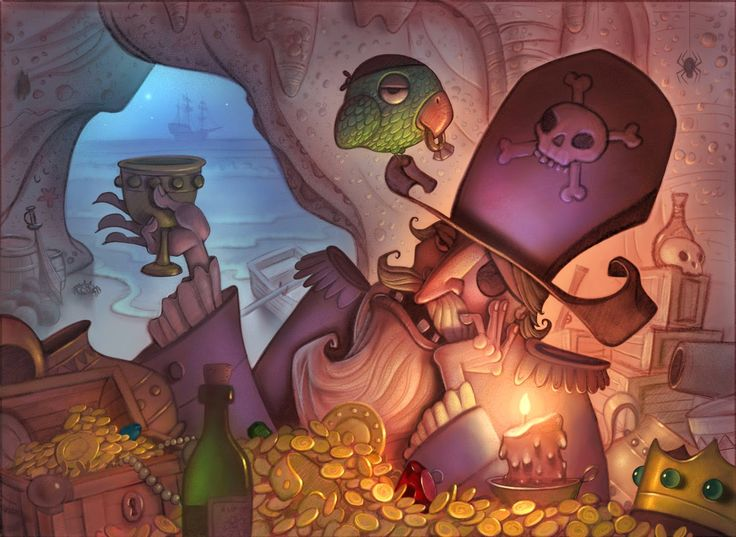 Will Terry - Children's Book Illustrator: Using Different Light Sources In Your Illustrations