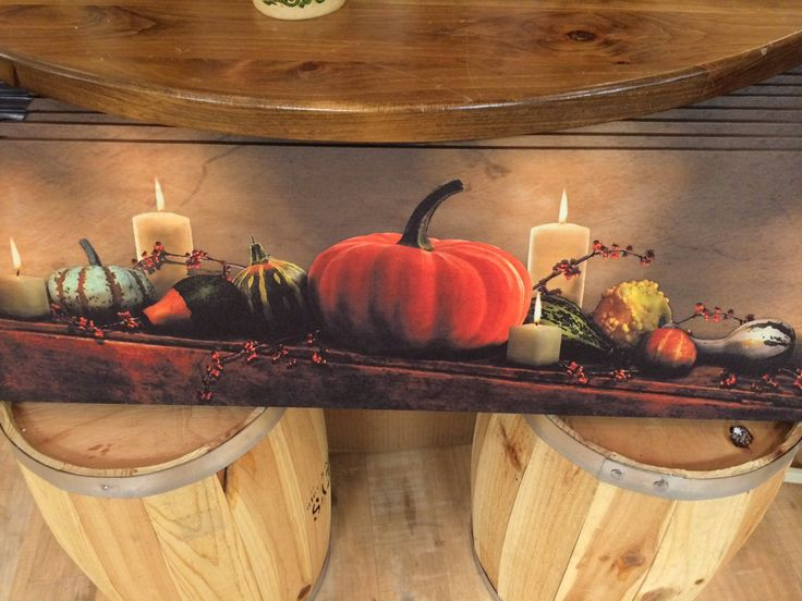 Halloween Light-Up Canvas Print, The Old Farmer's Almanac General Store.