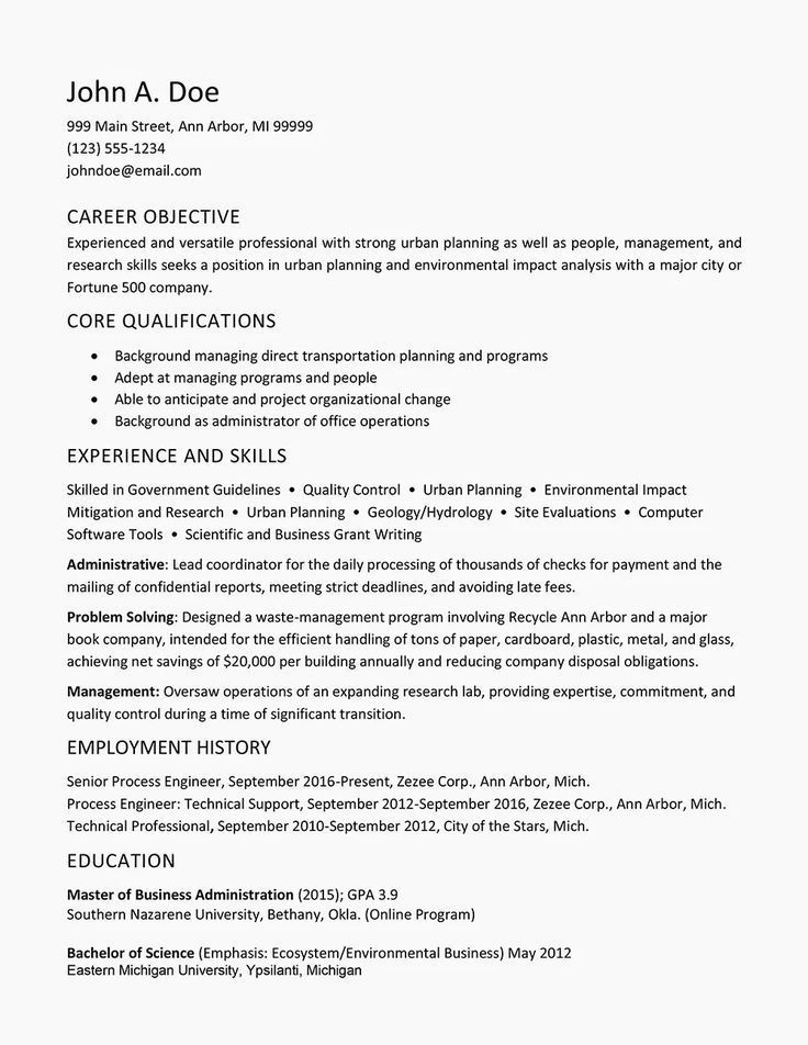 Resume Template With Headshot Photo Cover Letter 1 Page Word Resume Design Diy Cv Template Resume Examples Job Resume Examples Resume Tips No Experience