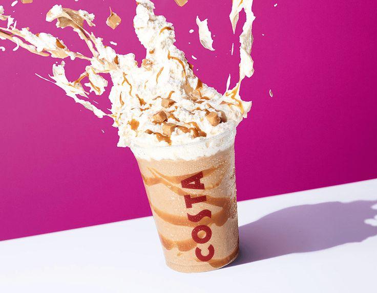 Costa Summer Coffee Banoffee Creamy Cooler.