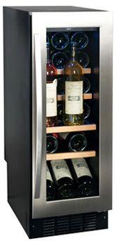 Узкий винный холодильник Climadiff AV21SX