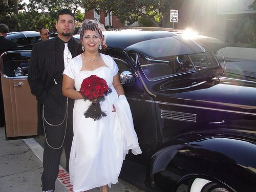 Vanessa & Adrian's 1940s, Zoot Suit themed wedding