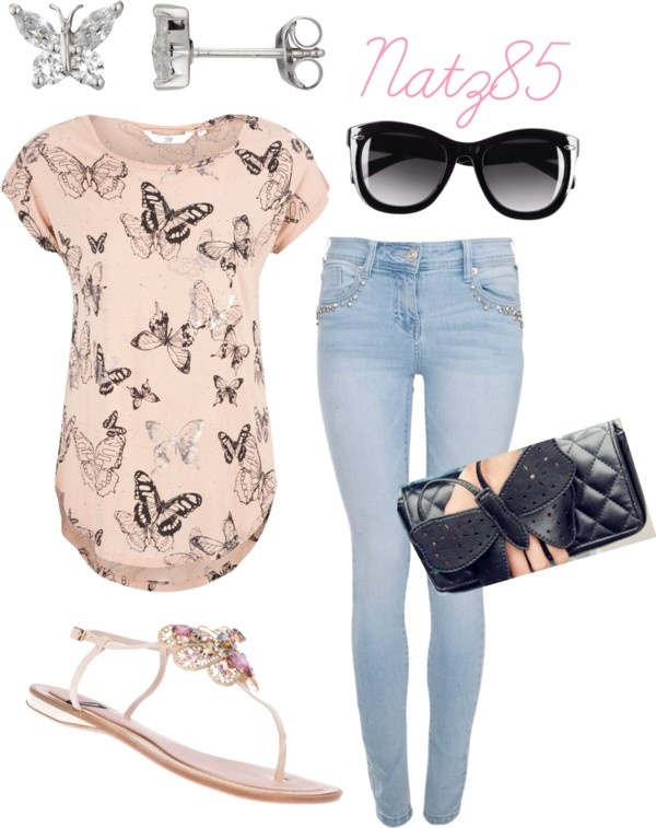 Oh man, with my red floral shirt, this would be cute!