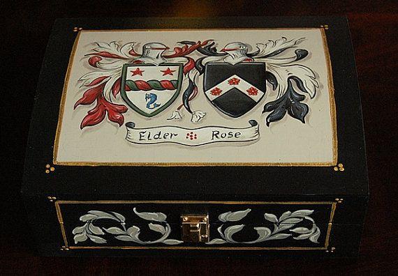 Regali di nozze personalizzato stemma di famiglia di decorativeart