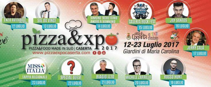 Pizza Expo Caserta, dal 12 luglio cibo e concerti al Parco Maria Carolina a cura di Redazione - http://www.vivicasagiove.it/notizie/pizza-expo-caserta-dal-12-luglio-cibo-concerti-al-parco-maria-carolina/