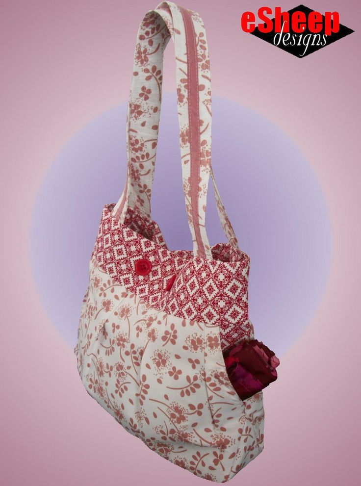 MIY (Make it Yours) Bag Pattern |The best part about this bag? You can customize it in a ton of different ways!