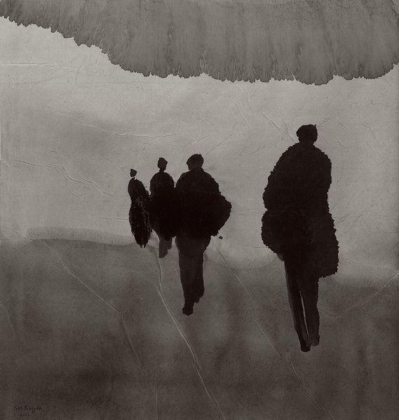 Gao Xingjian | women journey | 住在法国的中国艺术家