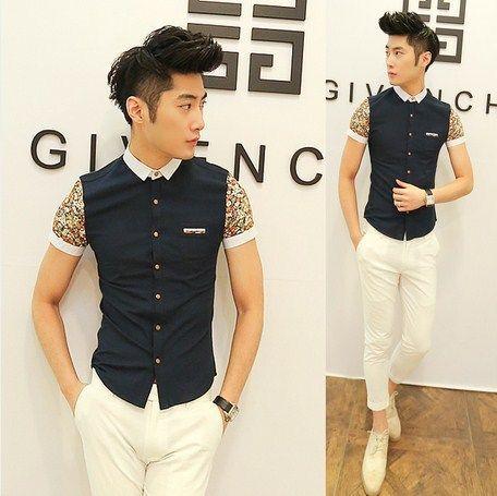 t shirt men moda asia - Buscar con Google