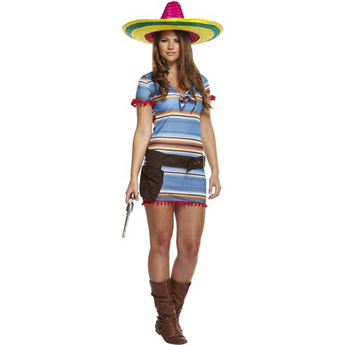 Mexican Woman Fancy Dress Costume £12.99