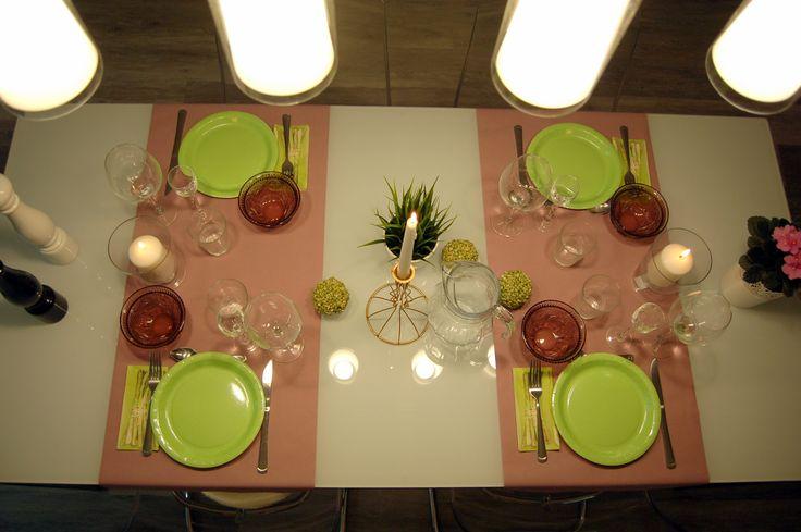 Étkezőasztal dekoráció