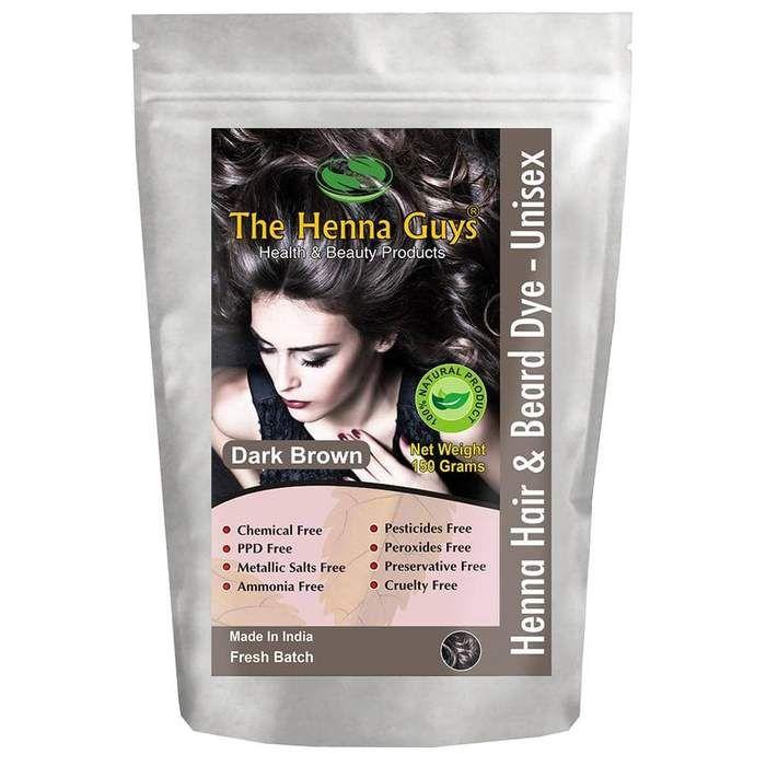 Dark Brown Henna Hair Dye Contains 100g Dark Brown Henna Blend 50g Body Art Quality Pure Henna For 2 Step Process It In 2020 Brown Henna Dyed Hair Henna Hair Color