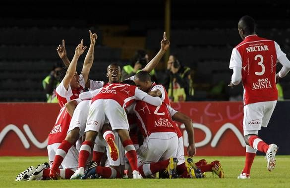 Después de 37 años, Santa Fe a un paso de la final de un campeonato Colombiano!!