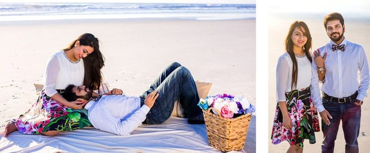 Beach Engagement Photography Jacksonville Florida