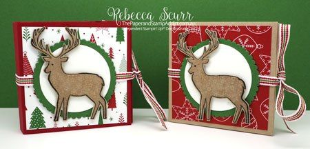Merry Patterns, Chocolate Holders, Be Merry DSP- Addinktive Designs Team - Rebecca Scurr -Independent Stampin' Up! demonstrator - www.facebook.com/thepaperandstampaddict
