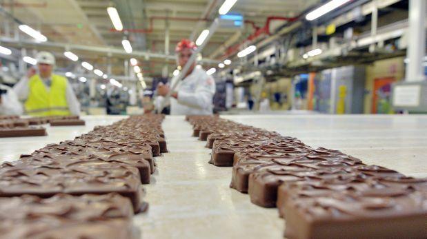 Fabrica de Mars, ubicada en Haguenau, ak este de Francia.