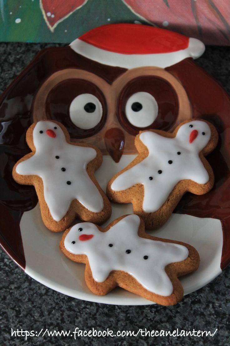 Gingerbread Snowmen.