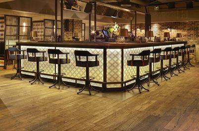 Abacus Bar, London. Havwoods flooring