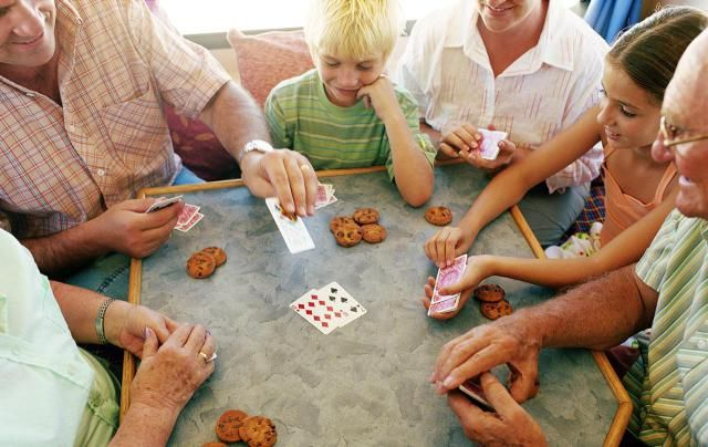 A list of the best traditional card games for families. All of these games can be played with a standard 52-card deck.