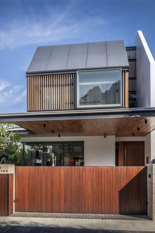 Semi-Detached House in Singapore Interacting with the Surrounding Site Far  Sight House is a complex residential project nested in Bukit Timah,  Singapore.