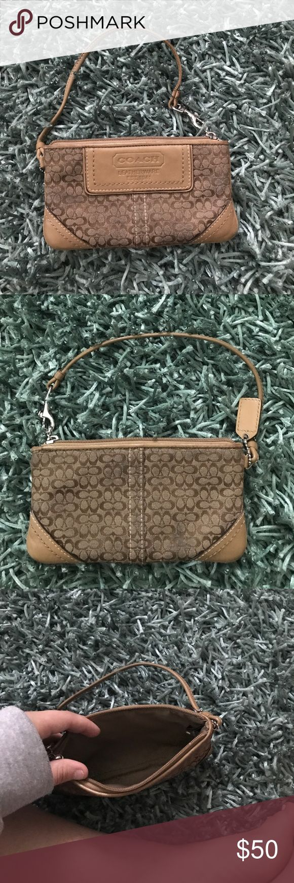 Coach wallet  monogram medium I just found this gem in my closet and it's time for it to have a new home. Coach Bags Wallets