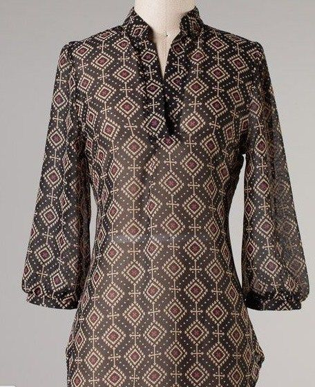 Model baju batik kerja wanita terbaru  244114b0d3