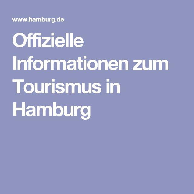 Offizielle Informationen zum Tourismus in Hamburg