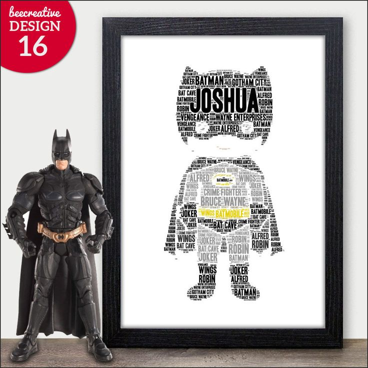 BATMAN Personalised Christmas Gift Kids Son Brother Dad For Him Boys Xmas Gifts  | eBay