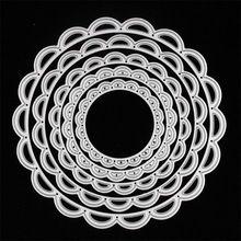 Metal Círculos troquelados, muere en scrapbooking carpeta de grabación en relieve de metal troquelado juego para fustella big shot sizzix corte máquina(China (Mainland))